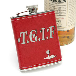 Stainless TGIF Flask