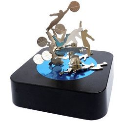Basketball Magnetic Sculpture Desk Toy