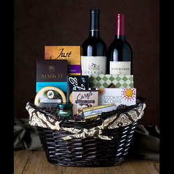 Red Red Wine Gourmet Gift Basket