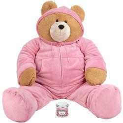 Big Hunka Love Snuggle Up Bear and Hot Chocolate Set
