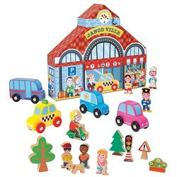 Janod Ville City Play Set