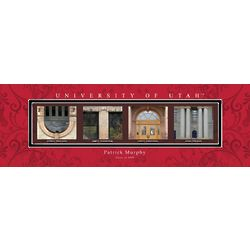 University of Utah Architecture Personalized Art Print