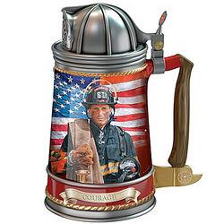 Brotherhood of Bravery Firefighter Stein