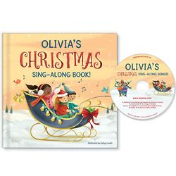 My Christmas Personalized Sing-Along Book