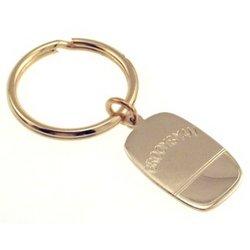 Engraved Groomsman Key Ring