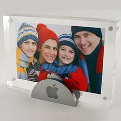 Clear Picture Frame with Stand
