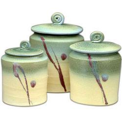 Handmade Ceramic Canister Set