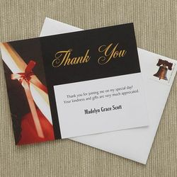 Personalized Diploma Design Graduation Thank You Cards