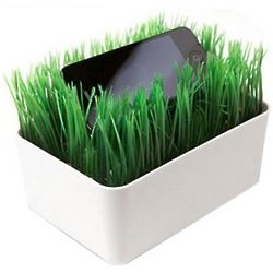 Artificial Grass Mini Charging Station