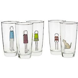 Custom Family Glassware