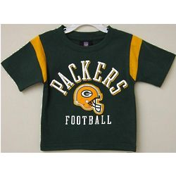 Toddler's Packers Gridiron T-Shirt
