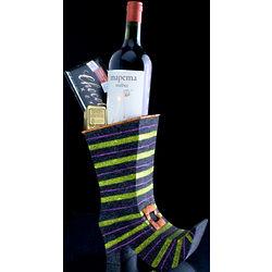 Wine and Chocolate Halloween Boot