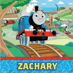Thomas and Friends Personalized Canvas Wall Art