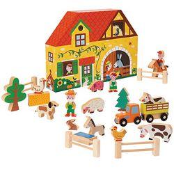 Janod Ville Farm Play Set