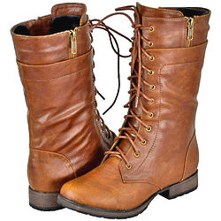 Women's Tan Riding Boots