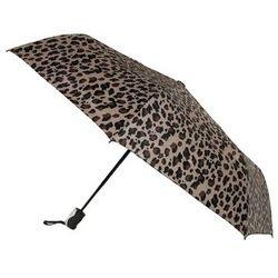 Mini Triple-fold Cheetah Print Umbrella