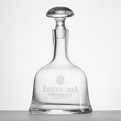 Passione Etched Glass Decanter