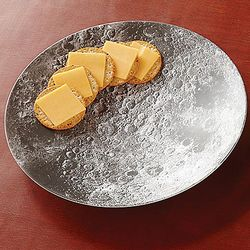 Melamine Moon Bowl