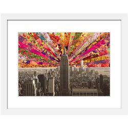 Blooming Manhattan Art Print