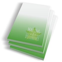 Making a Difference Notepads