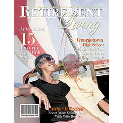 Personalized Retirement Magazine Cover