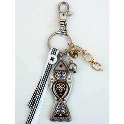 Lucky Fish Keychain/Handbag Charm