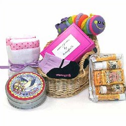 The Mary Jane Baby Girl Gift Basket