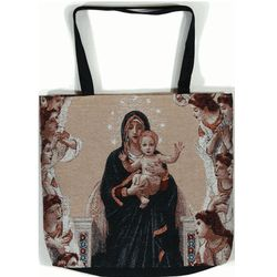 Queen of Angels Mary Tote Bag