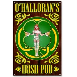 Personalized Irish Pub Pin Up Sign