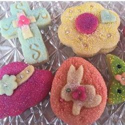 He Has Risen Homemade Sugar Cookies