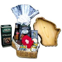 Wisconsin Pride Snacking Gift Basket
