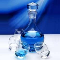 Roly Poly Liquor Decanter and Shot Glass Set