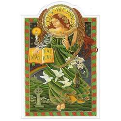 Box of Celtic Blessing Christmas Cards