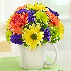 Happy Birthday Coffee Mug Bouquet