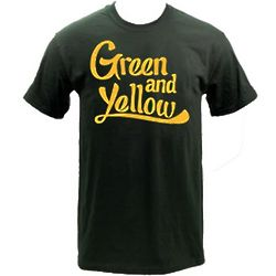 Green and Yellow Packer Fan T-Shirt