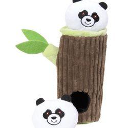Panda in Bamboo Toy