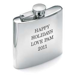 Personalized Stainless Steel 6 Ounce Flask