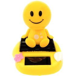 Smiley Face Solar Power Motion Toy