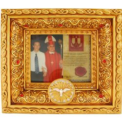 Holy Sacrament Confirmation Frame with Vatican Soil