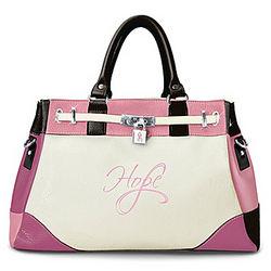 Breast Cancer Awareness Shades of Hope Handbag