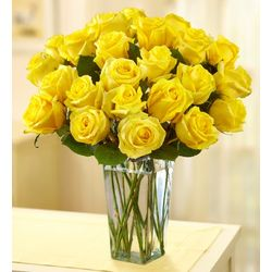 Yellow Roses for Sympathy Bouquet