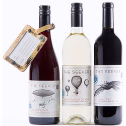 The Seeker Wine Gift Set