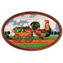 Country Charm Personalized Collector Plate