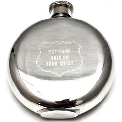 Put Some Hair On Your Chest 5 Oz. Flask