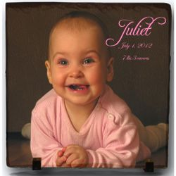 Slate Plaque with Personalized Full Color Photo