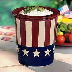 Patriotic Dip Cooler