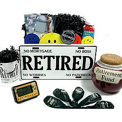 a46c708b7d7b Retirement Gag Gifts Basket - FindGift.com