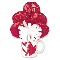 Heart Mug Bouquet