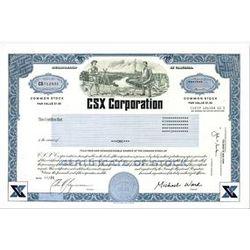 Single Share of CSX Corporation Stock