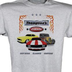 My Garage Personalized T-Shirt